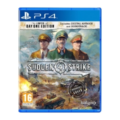 PS4 - Sudden Strike 4 Limited Day One Edition