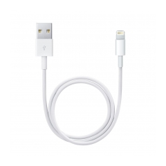 ME291ZM/A iPhone Lightning Datový Kabel 0,5m White (Bulk)