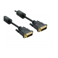4World Kabel DVI-D 24+1M-24+1M 3.0m Black