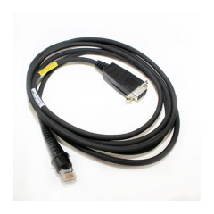 Honeywell RS232 cable TTL,con.D9pinF, power on pin 9