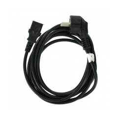 4World Napájecí kabel 3pin 3.0m Black