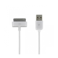 4World Kabel USB 2.0 pro iPad/iPhone/iPod 1m bílý