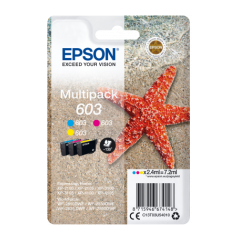 Epson multipack 3-colours 603, Cyan, Magenta, Yellow