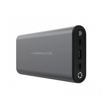 HyperJuice 130W duální USB-C powerbanka - Gray
