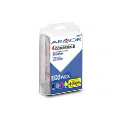 Armor ink-jet Brother LC1240, Multipack CMYK