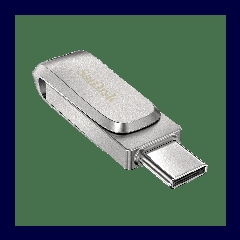 SanDisk Ultra Dual Drive Luxe USB-C 64GB